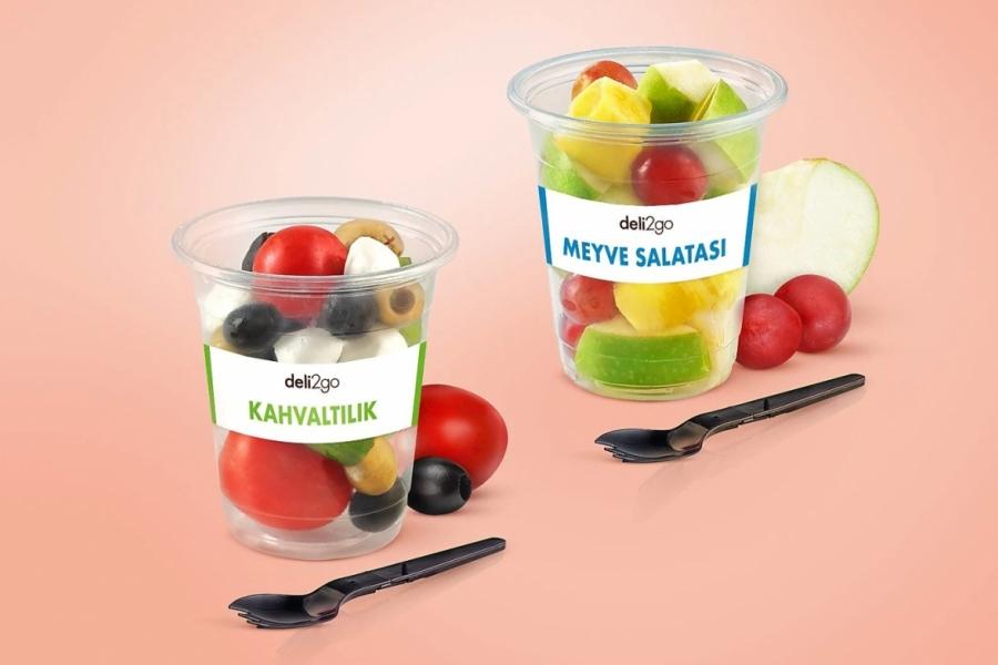 Meyveli ve Granolalı yoğurtlar